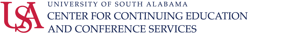 University of South Alabama: Center for Continuing Education and Conference Services