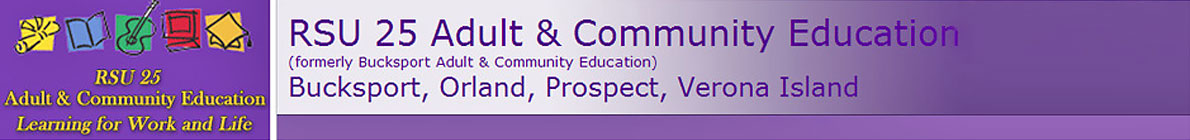 RSU 25 Adult and Community Education