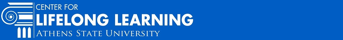 The Center for Lifelong Learning at Athens State University